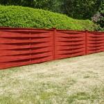 Basketweave Cedar Fence
