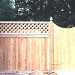 Eisenhower Cedar Fencing