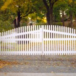 Baltimore Cathedral PVC Fence