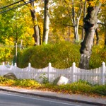 Baltimore Scallop PVC fencing