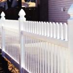 Birmingham Straight PVC Fence