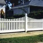 Birmingham Scallop PVC Fence