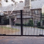 Custom Ornamental Wood Gates