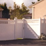 Detroit Straight PVC Fence