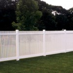 Louisville Straight PVC Fence