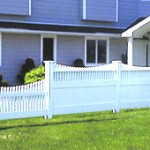 Orlando Capped PVC Fence