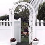Orlando Scallop PVC Fence